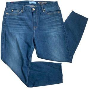 7FAM b(air) high waist ankle skinny jeans sz 32